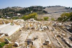 Cementerio musulmán foto de archivo