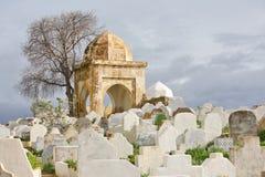 Cementerio musulmán Imagen de archivo libre de regalías