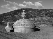 Cementerio nómada del estilo Fotos de archivo libres de regalías