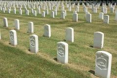 Cementerio nacional Foto de archivo libre de regalías
