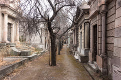 Cementerio nacional (Cementerio de general Santiago), Santiago, Chile foto de archivo libre de regalías