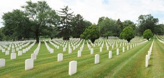 Cementerio nacional de Arlington. Fotografía de archivo libre de regalías