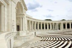 Cementerio nacional de Arlington - auditorio Fotos de archivo