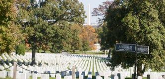 Cementerio nacional de Arlington, USA> Foto de archivo libre de regalías