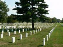 Cementerio nacional de Nashville Foto de archivo libre de regalías