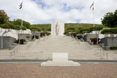 Cementerio nacional de Punchbowl Imagen de archivo