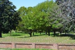 Cementerio nacional de Vicksburg Fotos de archivo