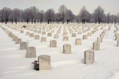 Cementerio nacional WW2 foto de archivo