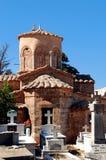 Cementerio ortodoxo en Grecia foto de archivo
