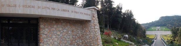 Cementerio polaco de la guerra Foto de archivo libre de regalías