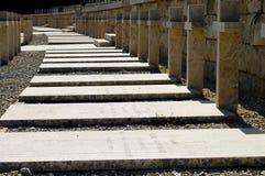 Cementerio polaco de WWII - Monte Cassino - Italia Fotos de archivo