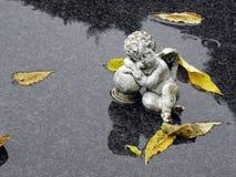 Cementerio principal del ` s de Mirogoj Zagreb, otoño lluvioso, 5 Foto de archivo