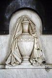 Cementerio principal Mirogoj, detalles, Croacia, 27 de Zagreb Imágenes de archivo libres de regalías