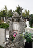 Cementerio principal Mirogoj, detalles, Croacia, 29 de Zagreb Fotos de archivo libres de regalías