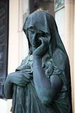 Cementerio principal Mirogoj, detalles, Croacia, 25 de Zagreb Imágenes de archivo libres de regalías