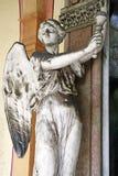 Cementerio principal Mirogoj, detalles, 12 de Zagreb Foto de archivo libre de regalías