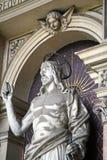 Cementerio principal Mirogoj, detalles, 19 de Zagreb Imagen de archivo libre de regalías
