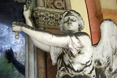 Cementerio principal Mirogoj, detalles, 13 de Zagreb Imagen de archivo libre de regalías