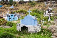 Cementerio rústico foto de archivo libre de regalías