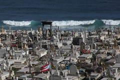Cementerio Santa Maria de Pazzis, San Juan Royalty Free Stock Photos