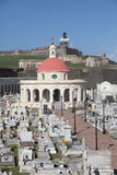 Cementerio Santa Maria de Pazzis, San Juan Royalty Free Stock Photo