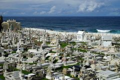 Cementerio Santa Maria Magdalena de Pazzi, Puerto Rico Stock Image