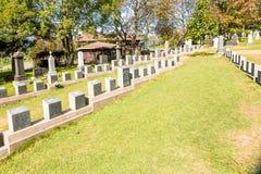 Cementerio titánico Lugar en la ciudad de Halifax en Canadá donde t Fotos de archivo libres de regalías