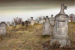Cementerio viejo Fotografía de archivo libre de regalías