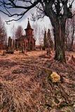 Cementerio viejo Imagen de archivo libre de regalías