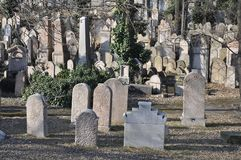Cementerio viejo Imágenes de archivo libres de regalías