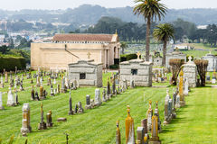 Cementerio viejo Fotografía de archivo