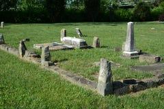 Cementerio viejo Fotos de archivo libres de regalías
