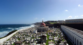 Cementerio viejo de San Juan Imagen de archivo