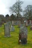 Cementerio viejo en Escocia Fotos de archivo