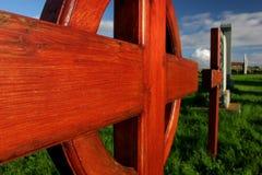 Cementerio viejo, islas de Shetland Fotografía de archivo
