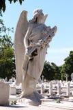 Cementeriode Cristà ³ bal Colà ³ n - Havana, Cuba Stock Foto