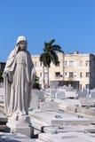 Cementeriode Cristà ³ bal Colà ³ n - Havana, Cuba Royalty-vrije Stock Foto