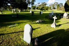 Cementerios del este de Perth foto de archivo libre de regalías