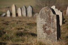 cementery еврейское Стоковое Фото