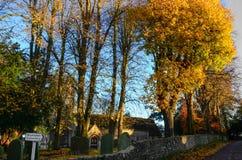 Cementery dans Blunsdon photo libre de droits