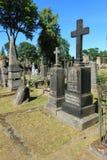 Cementery de Rasu à Vilnius photographie stock