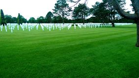 Cementery dell'america Fotografia Stock