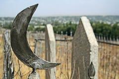 Cementery di islam Immagine Stock