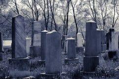 Cementery ebreo Fotografia Stock