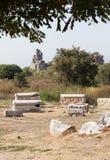 Cementery en Ephesus Fotografía de archivo