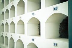 Cementery in Südamerika Stockbild