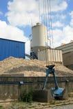cementfabrik Arkivfoton