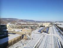 Cementgyár stock image