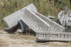 Cementkvarter Fotografering för Bildbyråer