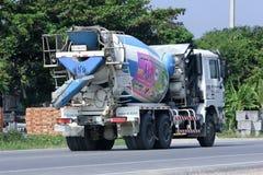 Cementlastbil av TPI Royaltyfri Fotografi